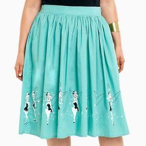 Retro Disney Tinkerbell pixie swing skirt